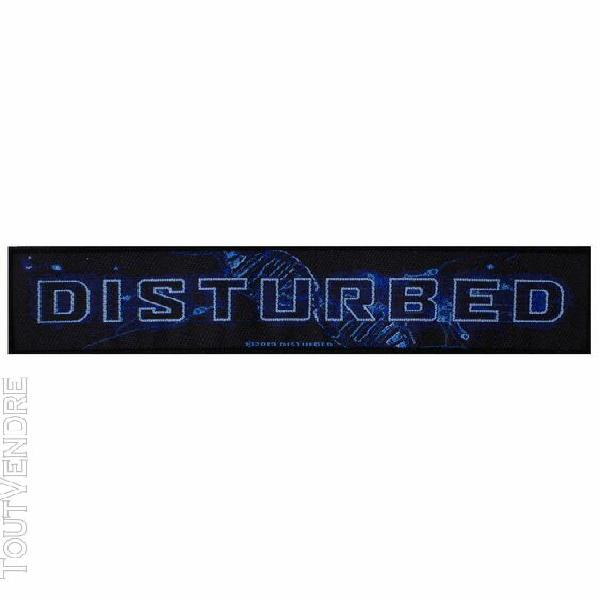 disturbed patch blue blood 19,5 x 5 cm