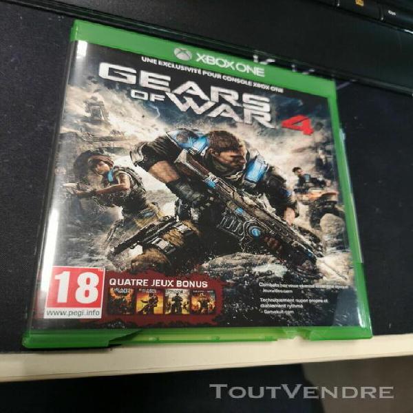 Gears of war 4 (microsoft xbox one, 2016) français