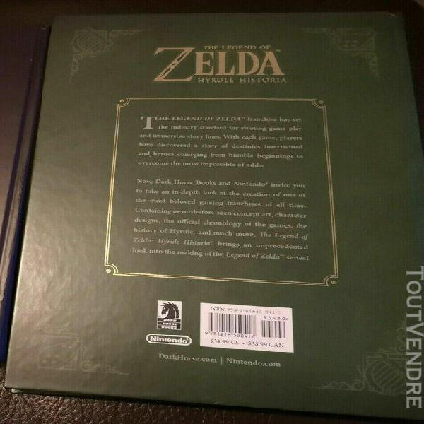Guide collector zelda hyrule historia - vo anglaise