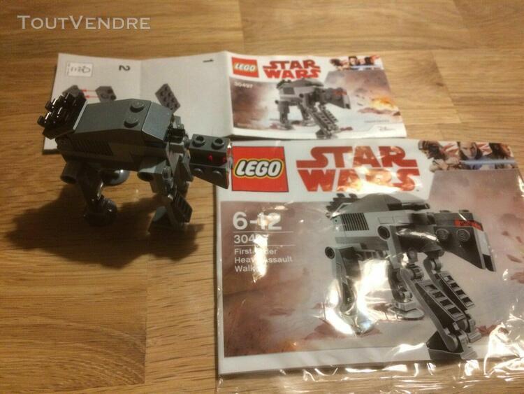 Lego star wars 30497 polybag first order heavy assault walke