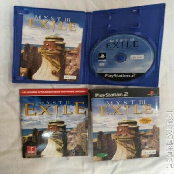 Myst 3 exile ps2 playstation (no nintendo sega) guide compl