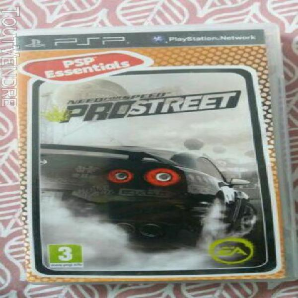 Need for speed pro street psp jeux