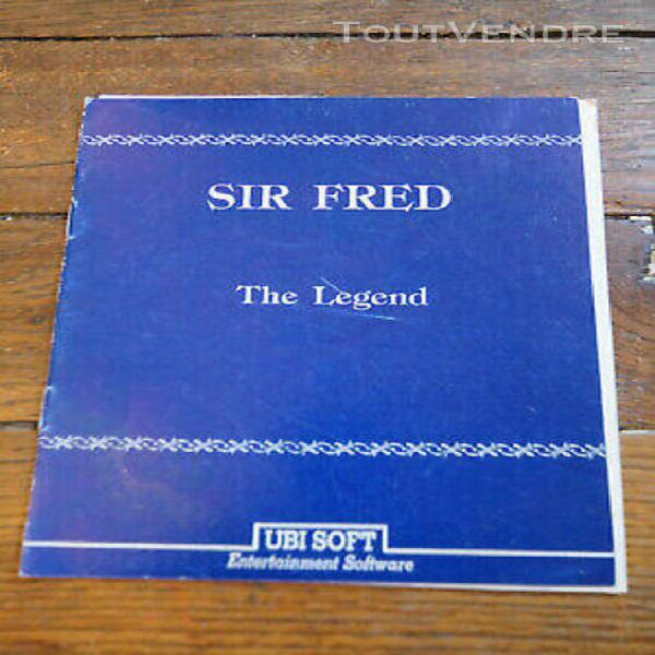 Notice - sir fred the legend