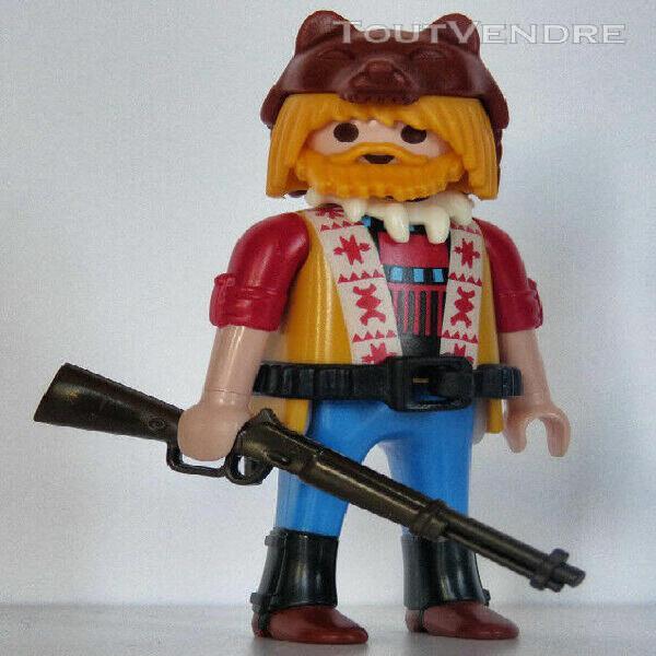 Playmobil western - cowboy - scout - éclaireur - trappeur -