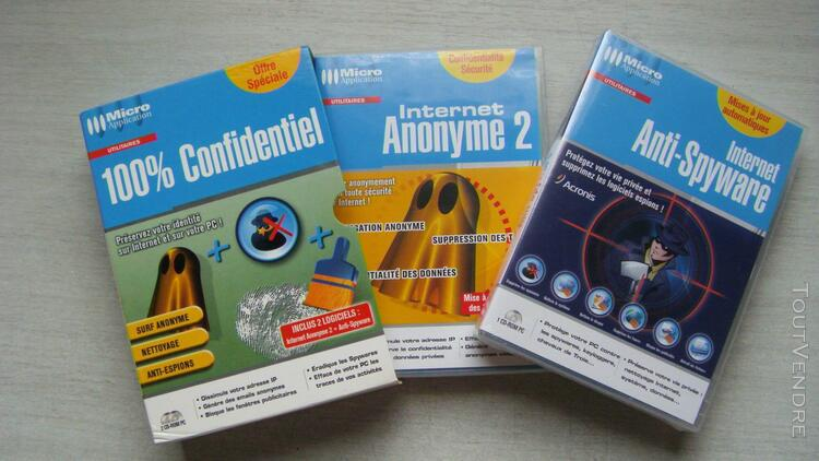 "100% confidentiel "" internet anonyme 2+anti spyware"""
