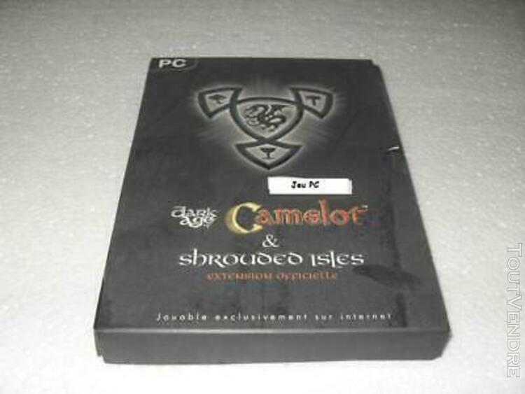 ancien jeu pc dark age of camelot + shrouded isles - compati