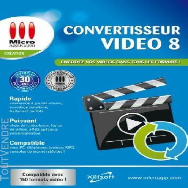 convertisseur vidéo 8