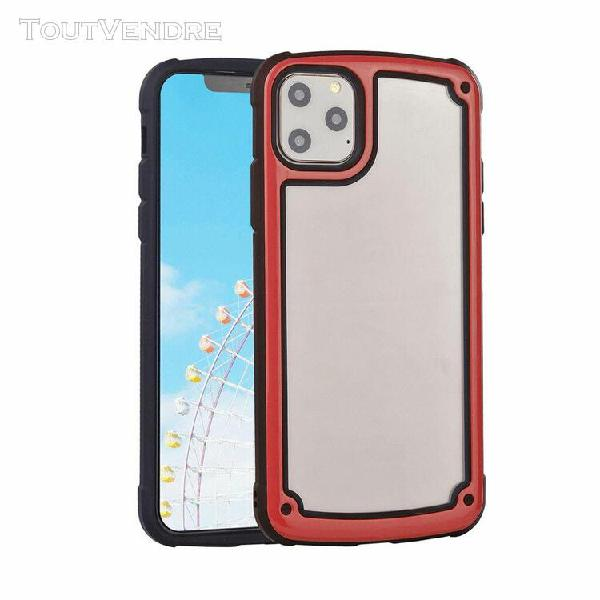 Coque iphone 11 effacer ultra-mince retour avant shell acryl