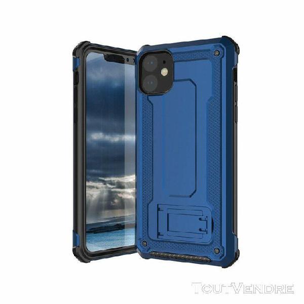 Coque iPhone 11 Pro Max Transparent Housse Silicone TPU 360 Degres Protection Anti Choc Full Body Etui Case