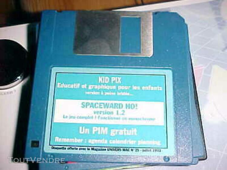 disquette univers mac25 - pour anciens macs 68020/30 /40