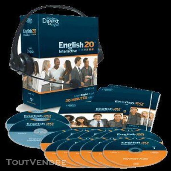 english 20 mn interactive niveau 1 + 2
