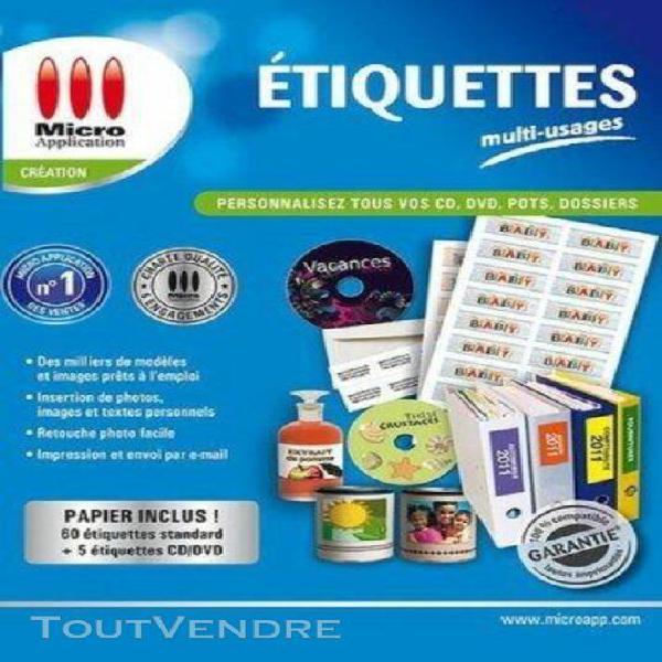 etiquettes multi usages
