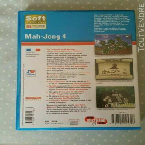 "jeu pc mah-jong"" (micro application)"