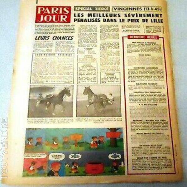 journal paris jour - 1338 - 4 et 5 janvier 1964