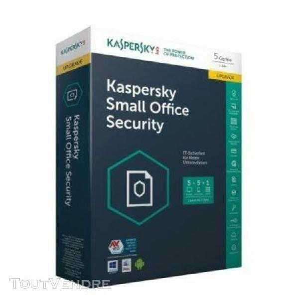 kaspersky small office security update 5 licenses windows