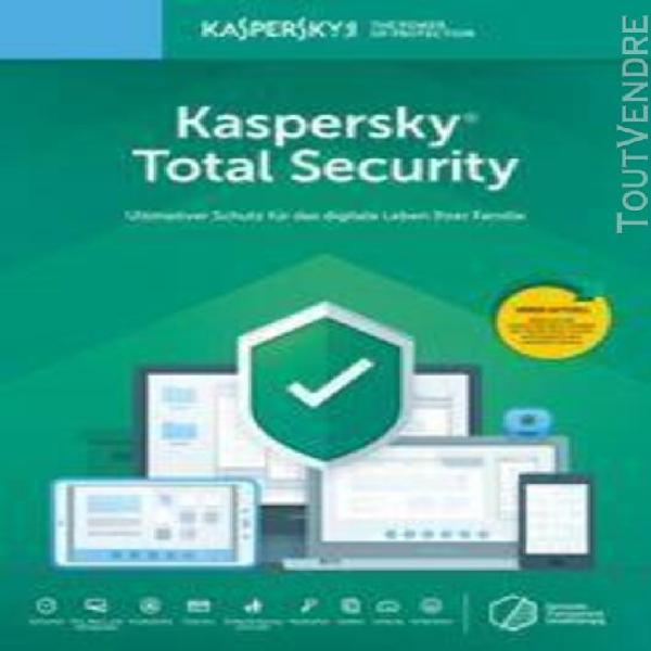kaspersky total security 2020, version complète,
