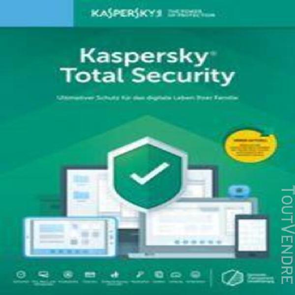kaspersky total security 2020, version complète,
