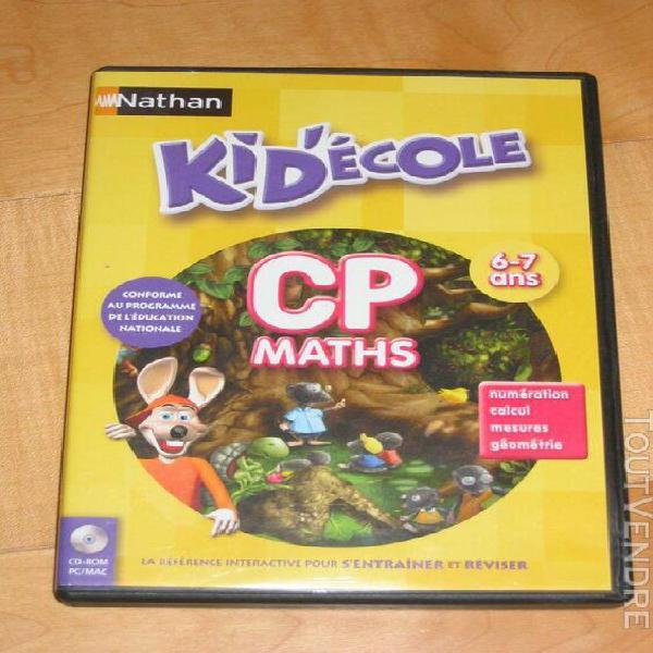 kidecole nathan cp maths 6-7 ans