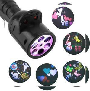 Led projecteur lampe de poche, lumière noël/halloween avec