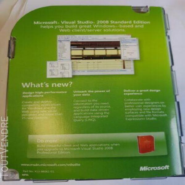 microsoft visual studio 2008 standard edition