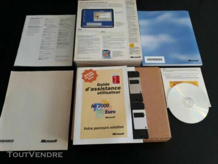 microsoft windows 98 en boite complet fr logiciel pc ☆