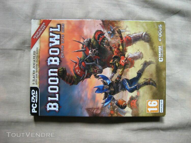 pc blood bowl edition elfes noirs