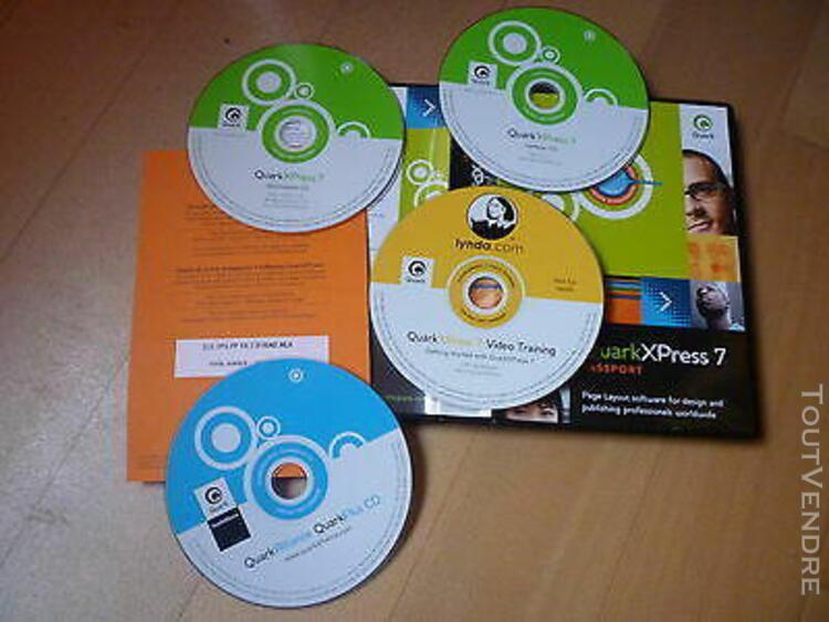 quarkxpress 7 upgrade mac/pc