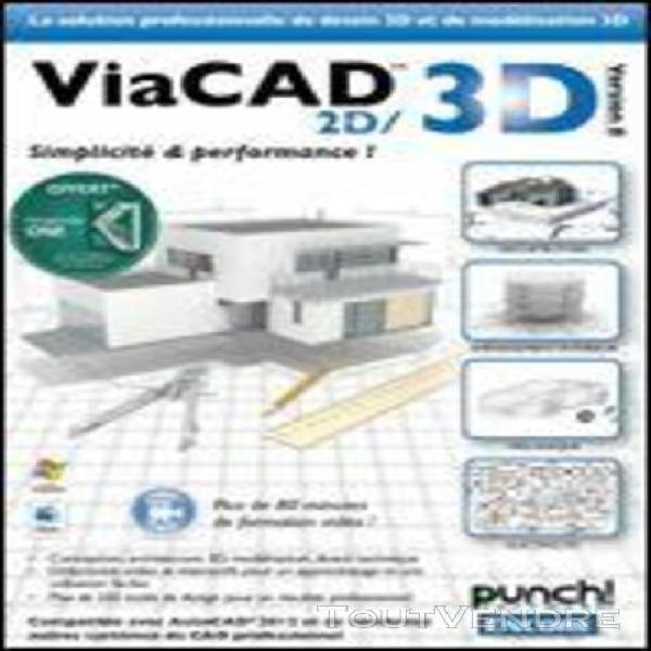 viacad 2d3d v8 punch! - logiciel en téléchargement