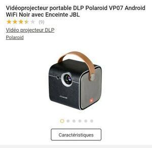 Vidéo-projecteur neuf polaroid jbl android