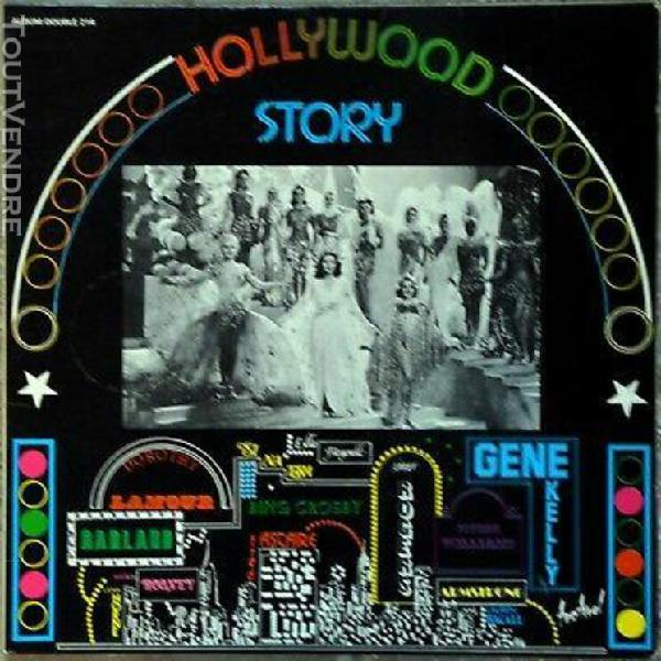33t b.o.f. hollywood story - ost (lp) fred astaire, ginger r