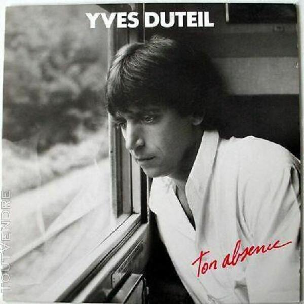 33t yves duteil - ton absence - 1987