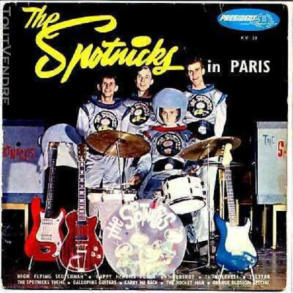 bo ost film 25cm - the spotnicks in paris