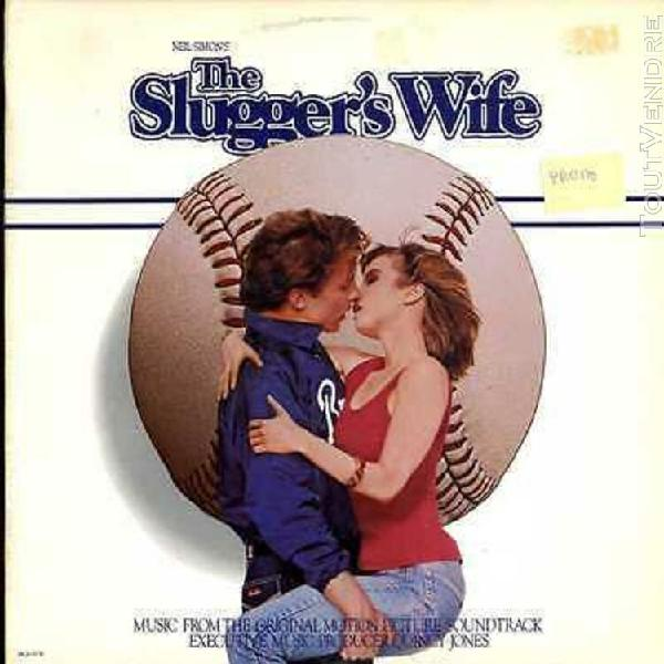 "bo ost film lp 12"" - the slugger's wife - quincy jones - pa"