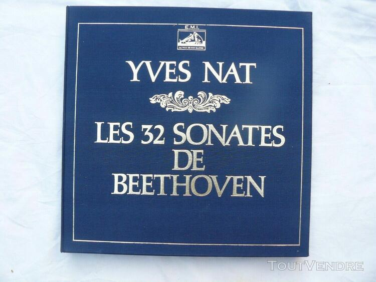 coffret yves nat les 32 sonates de beethoven
