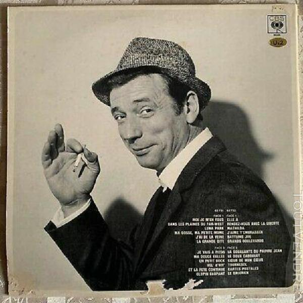 disque vinyle (33 tours) - yves montand