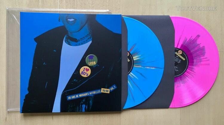 double vinyle lyon 40 ans de musiques actuelles 78/88 vol. 1