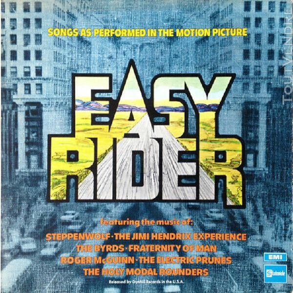 easy rider (songs as performed in the motion picture) - lp