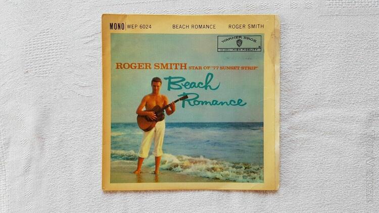 "ep 45 trs de "" roger smith "" original de 1961"