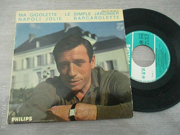 ep 45t biem 432.786 yves montand ma gigolette+3
