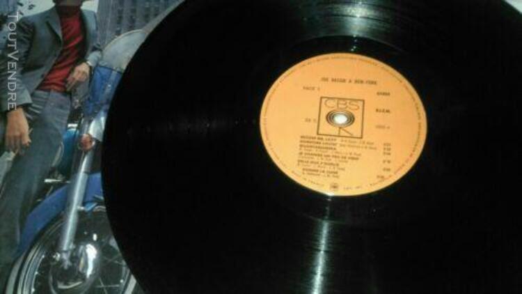 joe dassin a new york lp 33t vinyle ex cover ex original 196