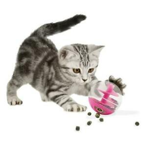 Jouet chat rose a friandises - cat it