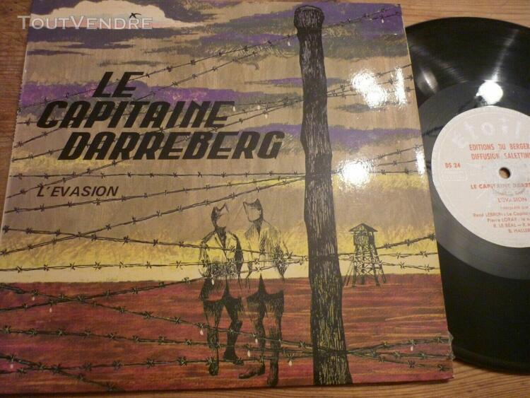 le capitaine darreberg 25 cm l'evasion musique roger roge