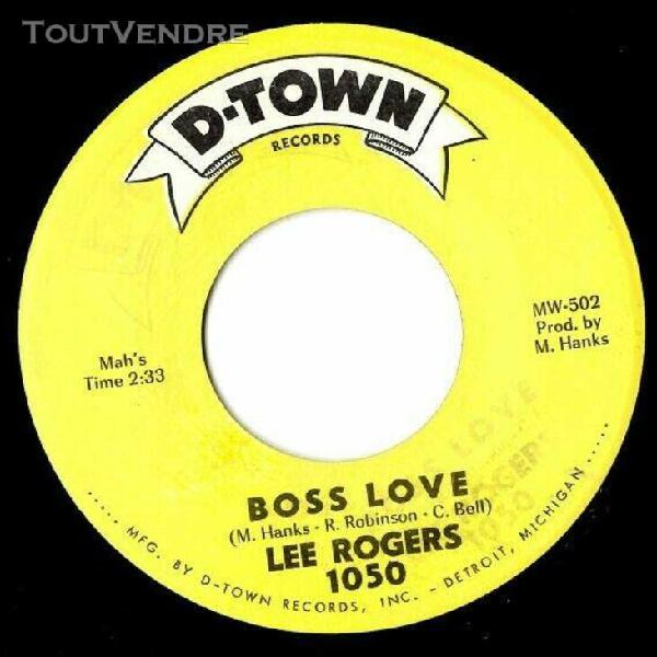 lee rogers boss love northern soul popcorn mint-