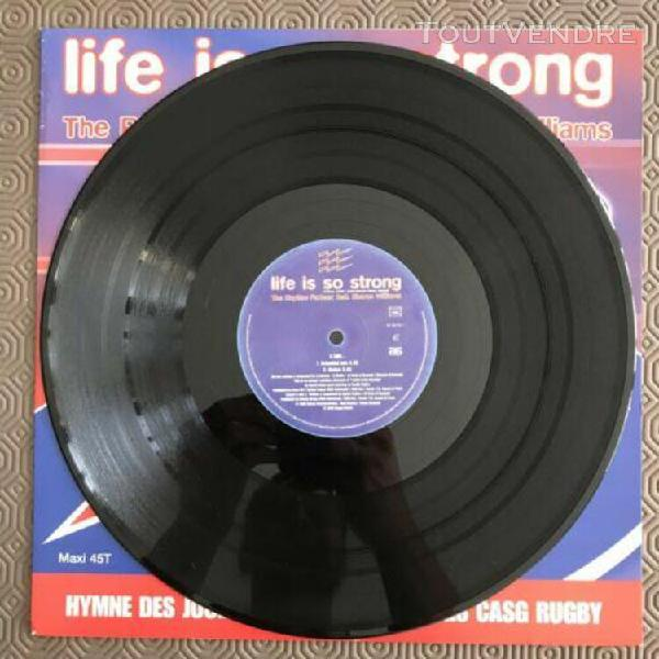 life is so strong the rhythm parteez feat. sharon williams v