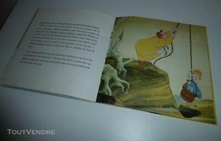 """livre disque 45 tours """"les aventures de bernard et bianca"""" -"""