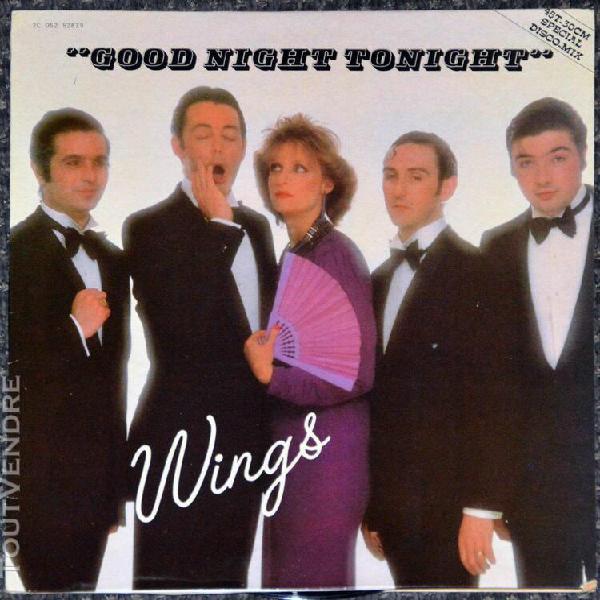 maxi 45t wings - good night tonight