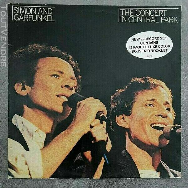 n°30. 33 tours. simon & garfunkel ‎– the concert in
