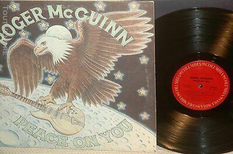 roger mc guinn (byrds) *peace on you 1974*columbia usa kc 3