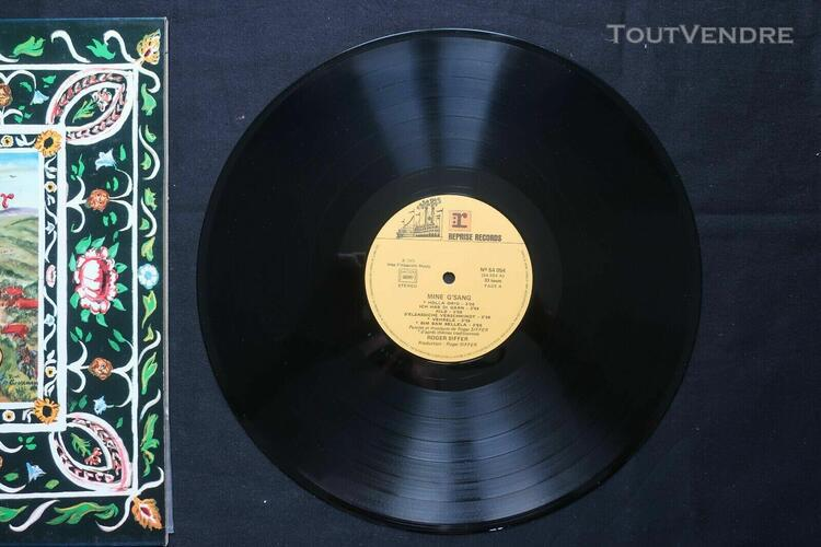 roger siffer - mine g'sang lp org french alsacian folk rock