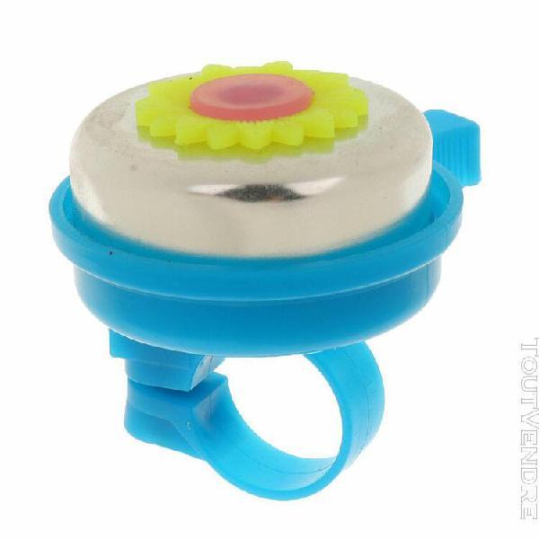 Sonnette de vélo enfant en forme de tournesol bell ring